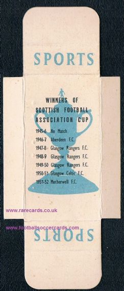 1952 Scottish Cup winners Phillips slide